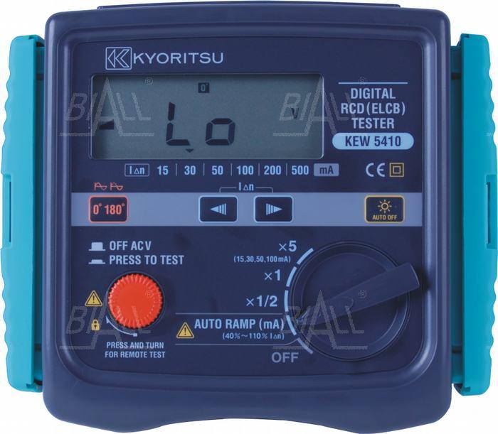Zdjęcie produktu: KEW5410 Miernik wyłączników RCD 400V