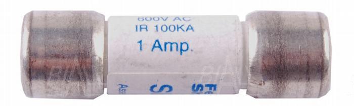 Zdjęcie produktu: Bezpiecznik 1,0A/600V 10X38 BM82X/867/81Xa/857a ceramiczny