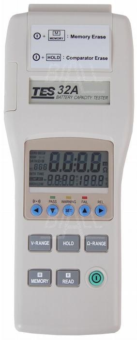 Zdjęcie produktu: TES32A Tester akumulatorów i baterii
