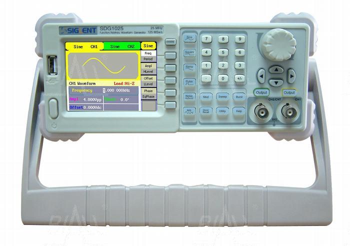 Zdjęcie produktu: SDG1050 Generator arbitr.50MHz/2kan,DDS,2k,125MSa/s SIGLENT