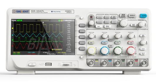 Zdjęcie produktu: SDS1104CFL Oscyloskop cyfr 100MHz/4kan,2GSa/s,24Kpts SIGLENT