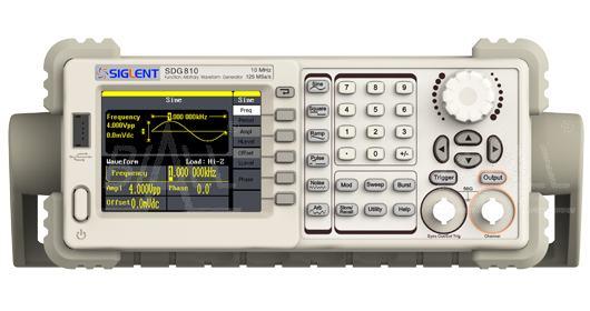 Zdjęcie produktu: SDG810 Generator arbitr.10MHz,DDS,1k,125MSa/s SIGLENT