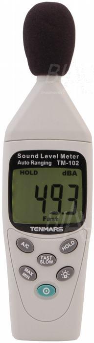 Zdjęcie produktu: TM102 Miernik natężenia dźwięku TENMARS