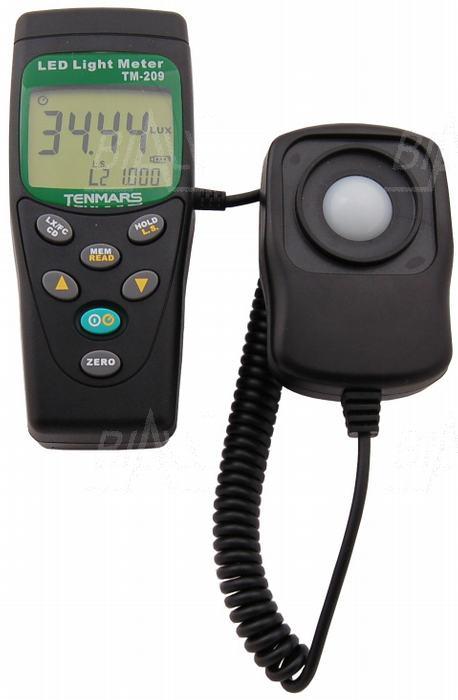 Zdjęcie produktu: TM209 Luksomierz 0,01~400 000 lx ,MEM do diod LED TENMARS