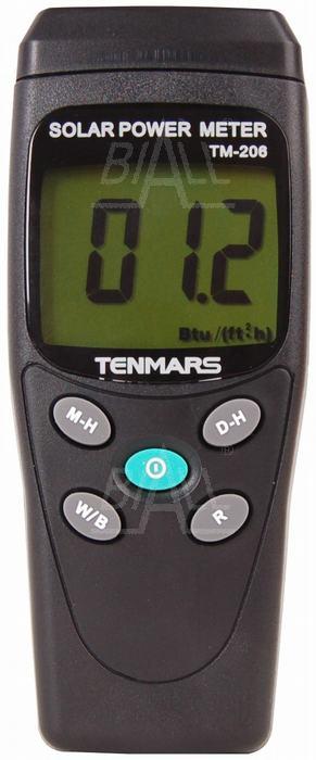 Zdjęcie produktu: TM206 Miernik mocy promieniowania słonecznego TENMARS