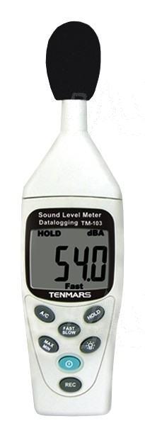 Zdjęcie produktu: TM103 Miernik natężenia dźwięku - logger/rejestr.  USB, sonometr TENMARS