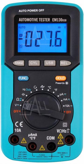 Zdjęcie produktu: EM130USB Miernik samochodowy 13 funkcji USB EnergyLab