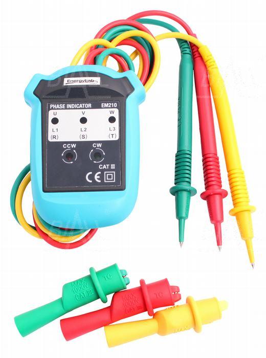 Zdjęcie produktu: EM210 Tester kolejności faz