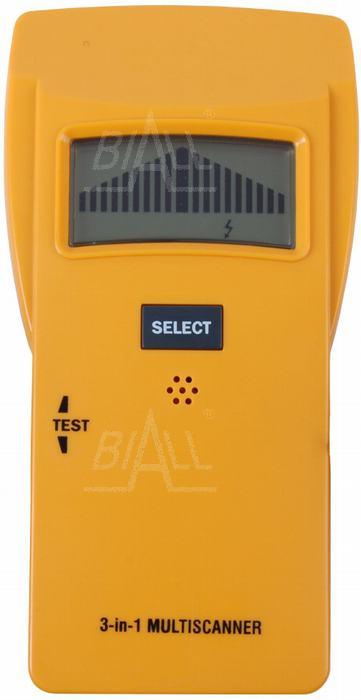 Zdju0119cie produktu: TS79 Detektor napiu0119cie/metal/belka Energylab.