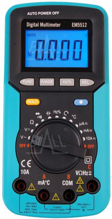 Zdjęcie produktu: EM5512 Multimetr 11 funkcji / test kolejności faz