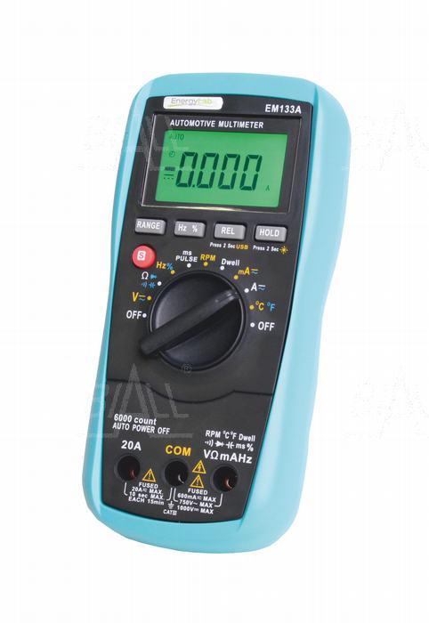 Zdjęcie produktu: EM133A Multimetr samochodowy 15 funkcji , USB