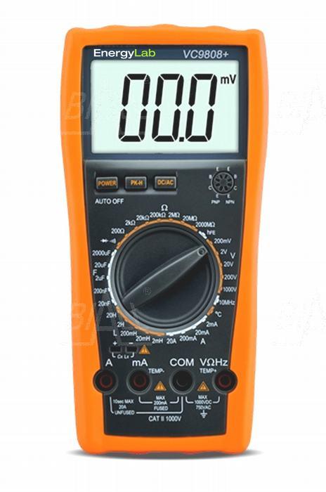 Zdjęcie produktu: VC9808+ Multimetr RLC EnergyLab