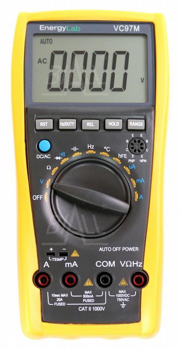 Zdjęcie produktu: VC97M Multimetr automatyczny  hFE i Temp. EnergyLab