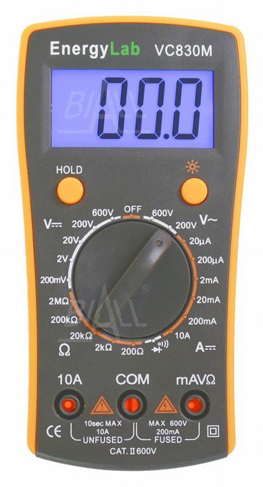 Zdjęcie produktu: VC830M Multimetr cyfrowy EnergyLab