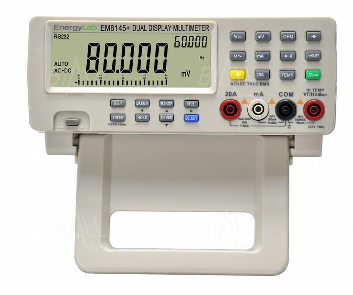 Zdjęcie produktu: EM8145+ Multimetr stacjonarny 4 7/8 cyfry dokł. 0,05% TRMS RS232
