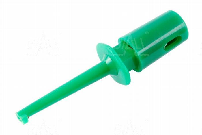 Zdjęcie produktu: Chwytak haczyk. MINI H16F-GN 0,3A zielony     SCI