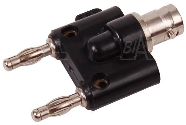 Zdjęcie produktu: Adapter gniazdo BNC - 2x wtyk 4mm AD 132