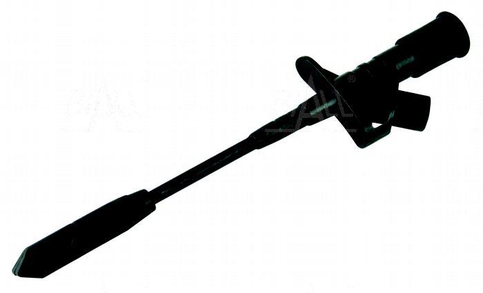 Zdjęcie produktu: Chwytak z igłą, bezp. gn. 4mm CH168-BK 10A CAT III 1000V