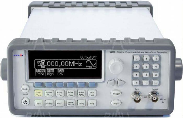 Zdjęcie produktu: ARRAY 3400A generator arbitralny 50MHz