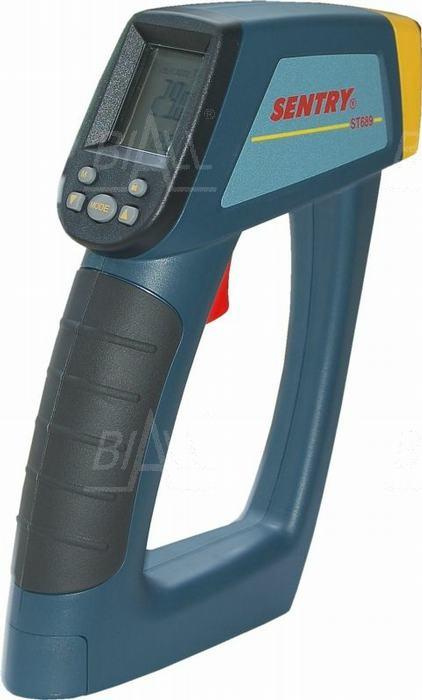 Zdjęcie produktu: ST689 Pirometr -50,+1000°C,50:1,10-MEM,USB,sonda K,SENTRY