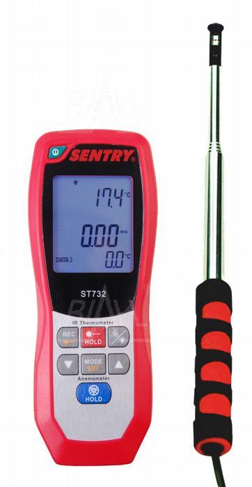 Zdjęcie produktu: ST732 Anemometr HOT-WIRE i pirometr,temp,USB SENTRY