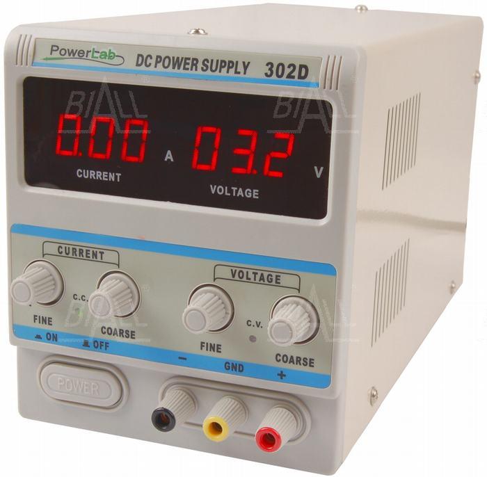 Zdjęcie produktu: Zasilacz lab 302D 30V/2A DC LED PowerLab