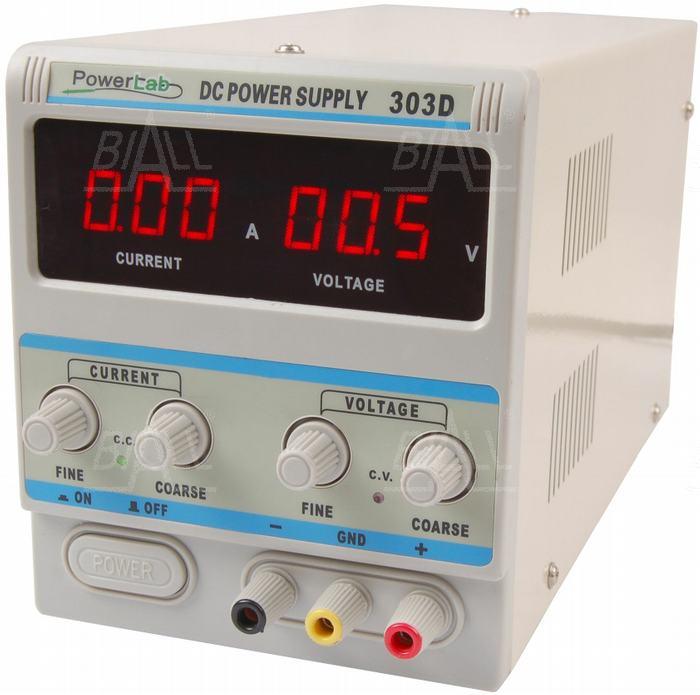 Zdjęcie produktu: Zasilacz lab 303D 30V/3A DC LED PowerLab