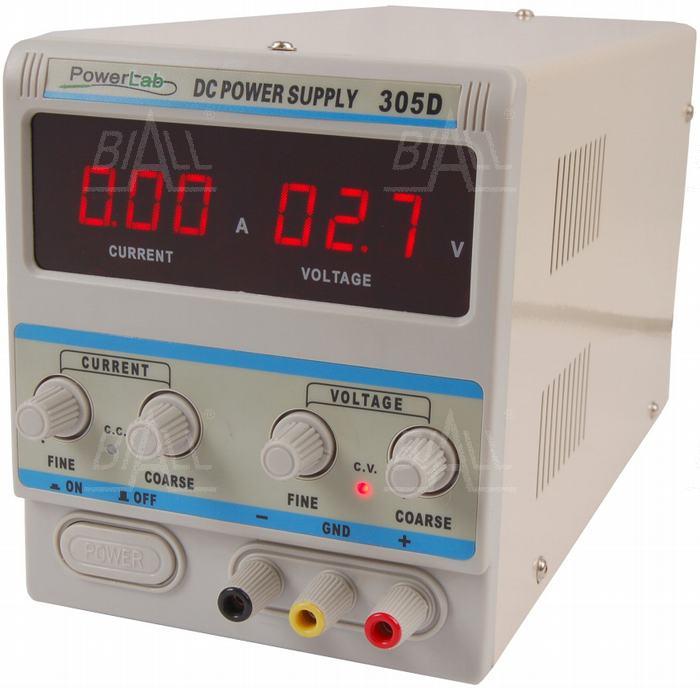 Zdjęcie produktu: Zasilacz lab 305D 30V/5A DC LED PowerLab