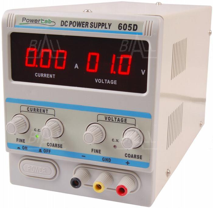 Zdjęcie produktu: Zasilacz lab 605D 60V/5A DC LED PowerLab