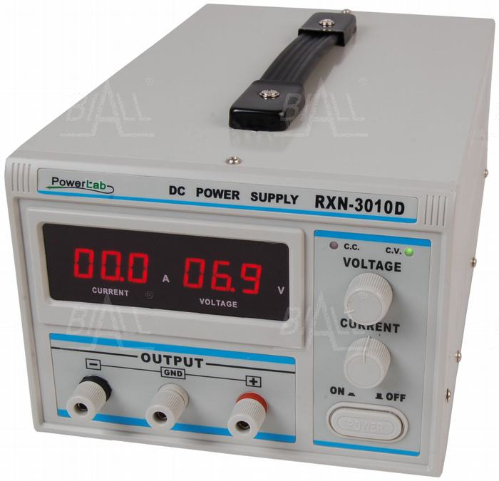 Zdjęcie produktu: Zasilacz lab 3010D 30V/10A DC LED PowerLab