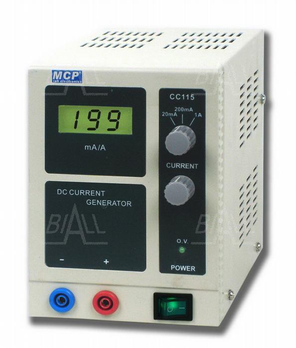 Zdjęcie produktu: CC115 precyzyjne źródło prądu DC 1A max15V  MCP