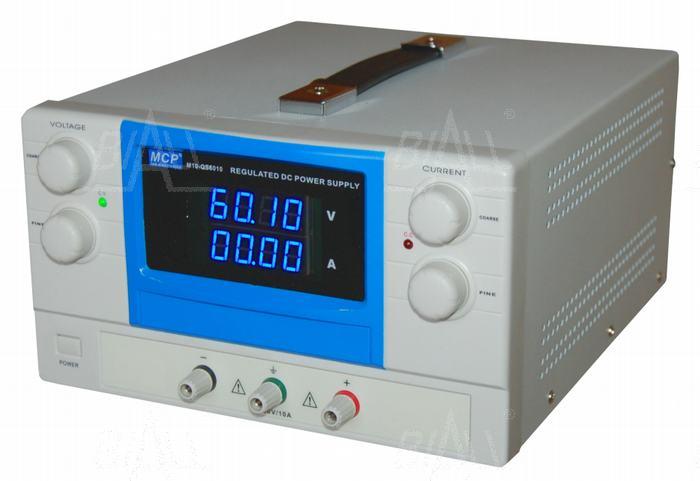 Zdjęcie produktu: Zasilacz lab QS6010 60V/10A DC do pracy ciągłej MCP