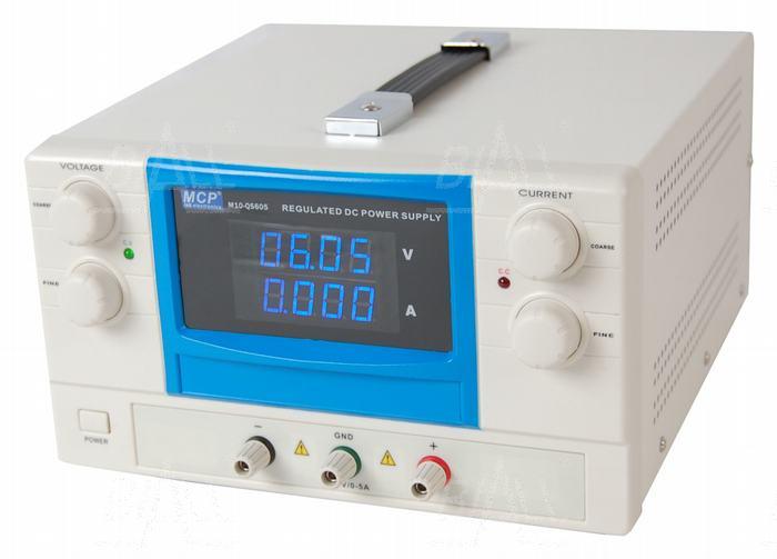 Zdjęcie produktu: Zasilacz lab QS605 60V/5A DC do pracy ciągłej MCP