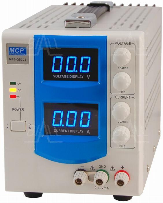 Zdjęcie produktu: Zasilacz lab QS305 30V/5A DC do pracy ciągłej MCP