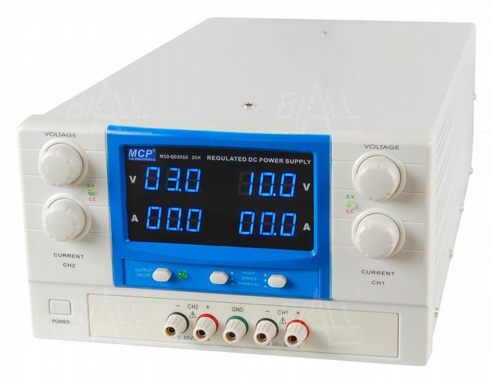 Zdjęcie produktu: Zasilacz lab QD3010 2x30V/10A DC do pracy ciągłej MCP