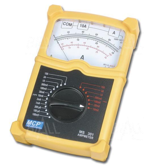 Zdjęcie produktu: MS301 Amperomierz analogowy AC/DC