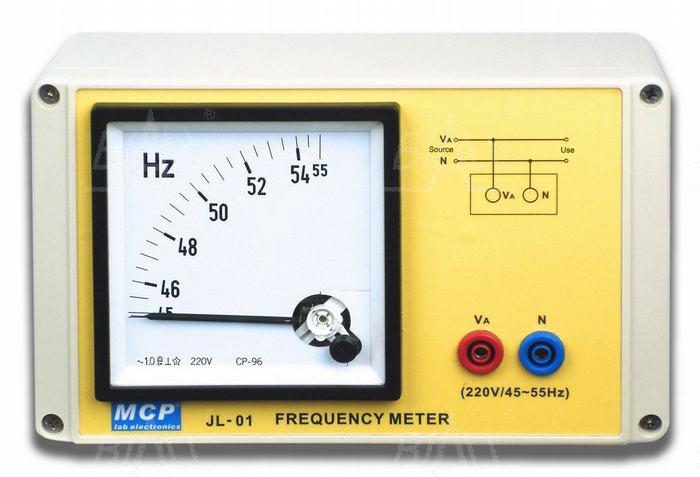 Zdjęcie produktu: JL01 Miernik częstotliwości 45-55Hz szkolny