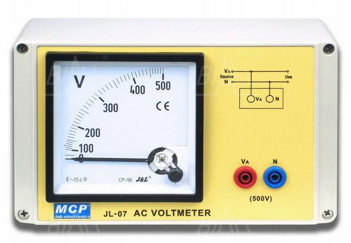 Zdjęcie produktu: JL07 Woltomierz AC 0-500V szkolny elektromagnetyczny