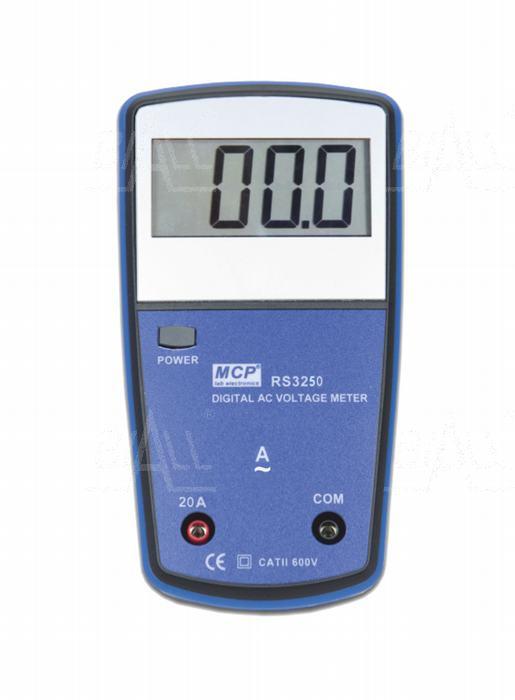 Zdjęcie produktu: RS-3250 Amperomierz AC szkolny cyfrowy MCP