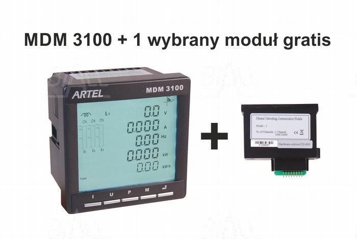 Zdjęcie produktu: Miernik mocy 3-faz MDM3100  ARTEL