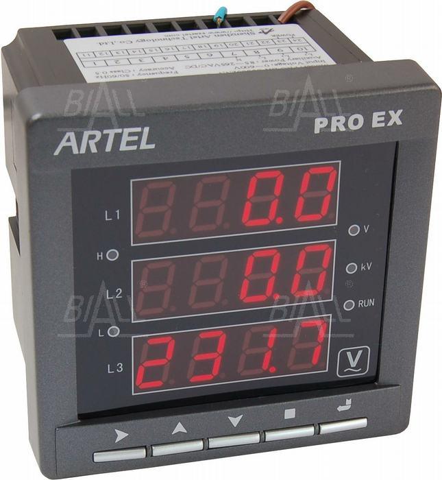 Zdjęcie produktu: Miernik napięcia AC 3-faz U53002NN PROEX ARTEL
