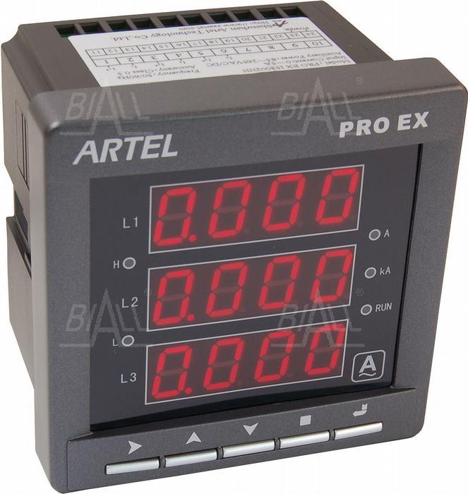 Zdjęcie produktu: Miernik prądu AC 3-faz I53002NN PROEX ARTEL
