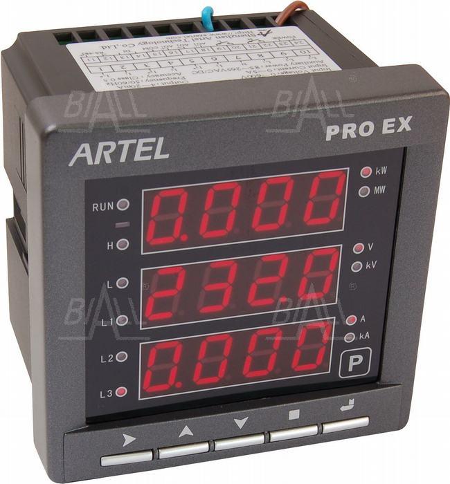 Zdjęcie produktu: Miernik mocy 3-faz P53112YY PROEX ARTEL