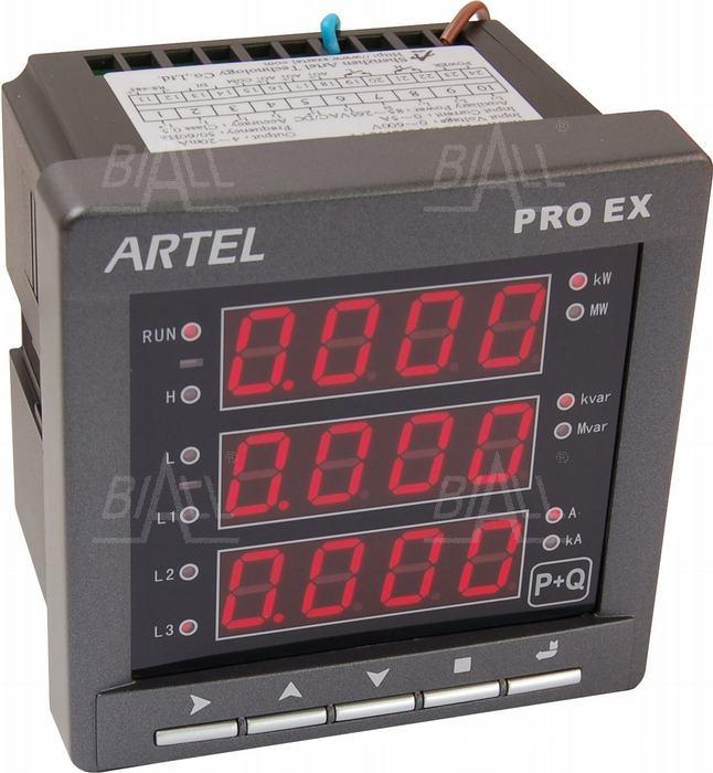 Zdjęcie produktu: Miernik mocy 3-faz P+Q S52112YY PROEX ARTEL