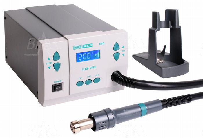 Zdjęcie produktu: Quick 861DW ESD Stacja lutownicza  HOT AIR 1kW,120l/min