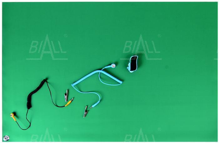 Zdjęcie produktu: Mata ESD komplet stołowa zielona GD508 0,6mx0,9m x2mm