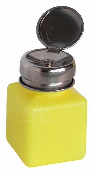 Zdjęcie produktu: Butelka dozująca ESD z pompką i podziałką 50ml - 100ml