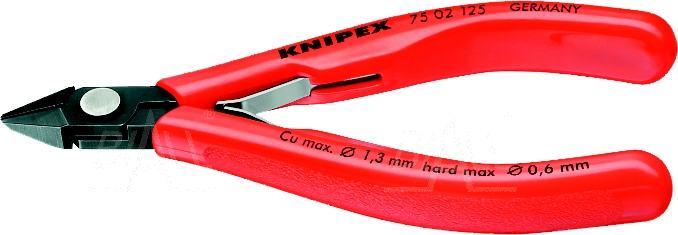 Zdjęcie produktu: KN-7502125 Szczypce boczne tnące 125mm