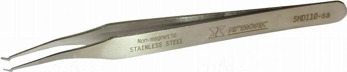"Zdjęcie produktu: Pinceta SMD110-SA płaska ""ukośna""       Xytronic"