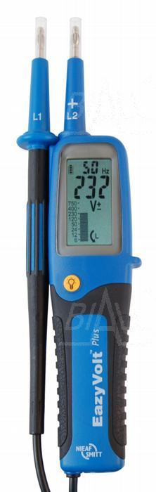 Zdjęcie produktu: Eazy Volt Plus Tester elektryka 6-750V, LCD bargraf, znak bezpieczeństwa B